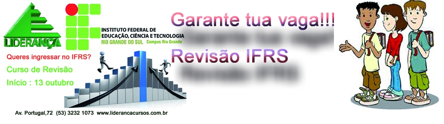 REvis�o IFRS